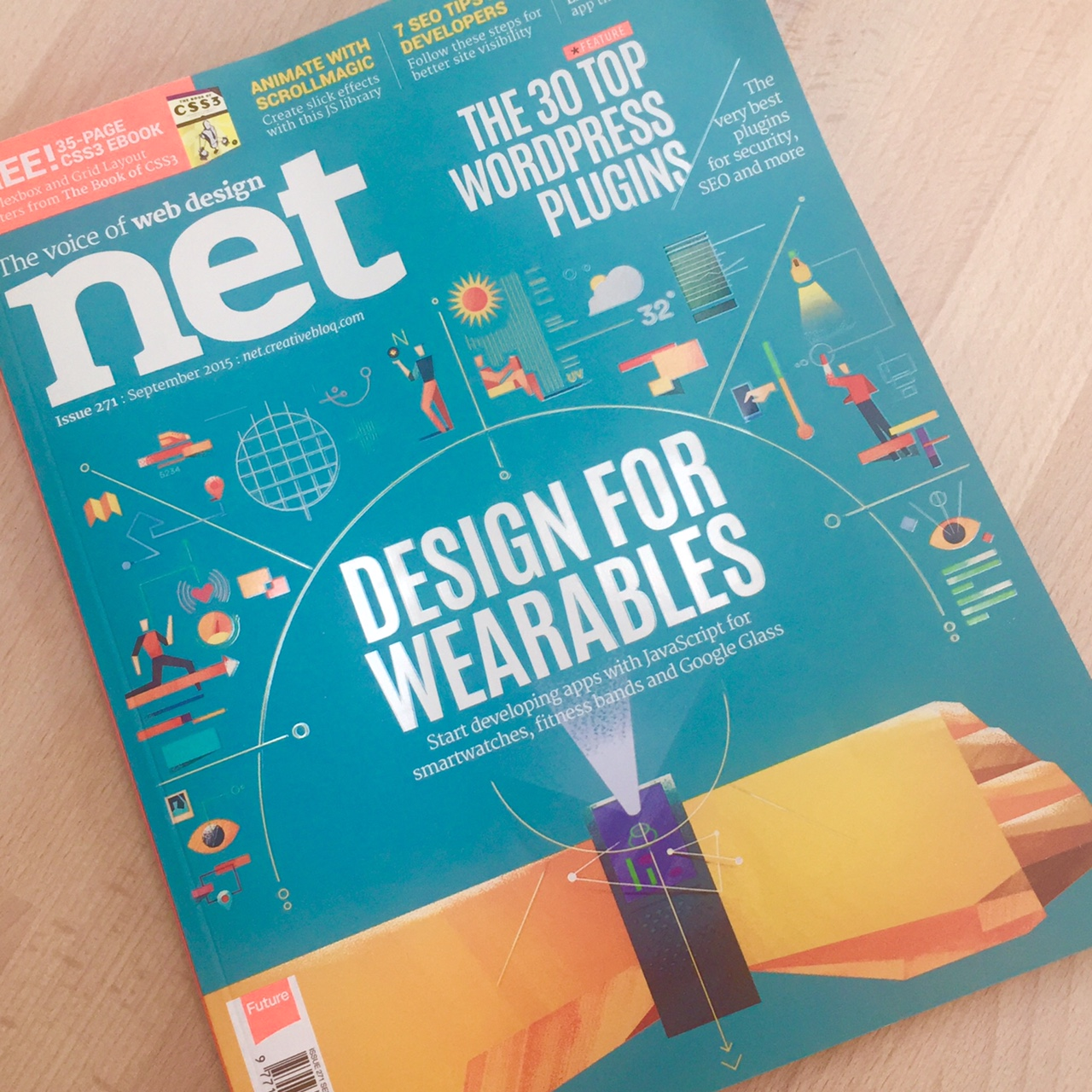 UVD | Kirsten's Q&A for net magazine's cover feature